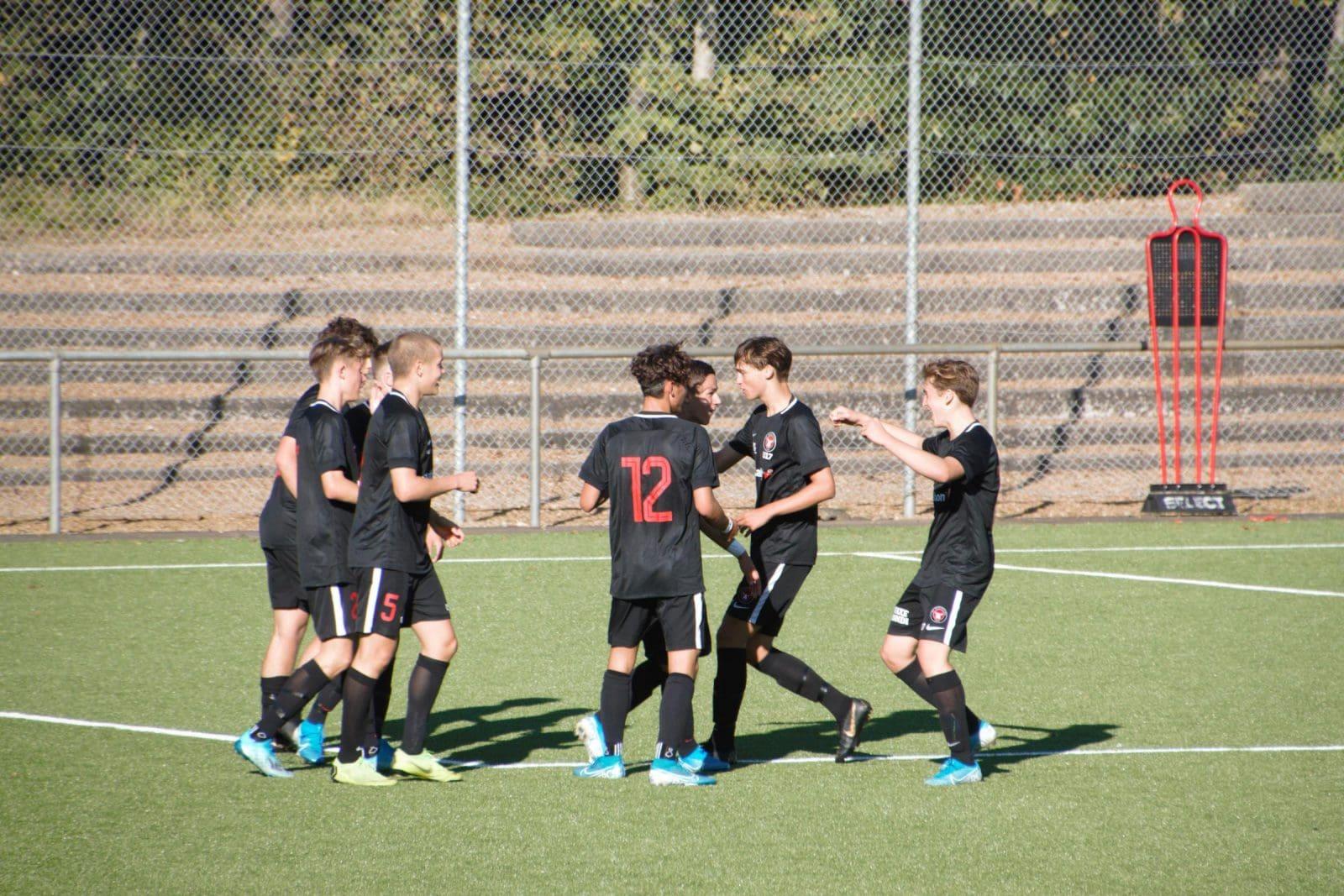 U17: Overfaldsfodbold på Vestkysten